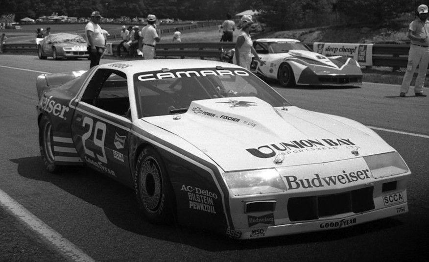 <p>Neil DeAtley's two Budweiser-sponsored Camaros dominated the 1983 Trans-Am season. Drivers David Hobbs and Willy T. Ribbs took nine of the 13 events in these tube-frame racers. Ribbs won five races and Hobbs four, with John Paul Jr. adding a tenth Camaro victory for another team. Hobbs won the championship based on his consistent finishes.</p>