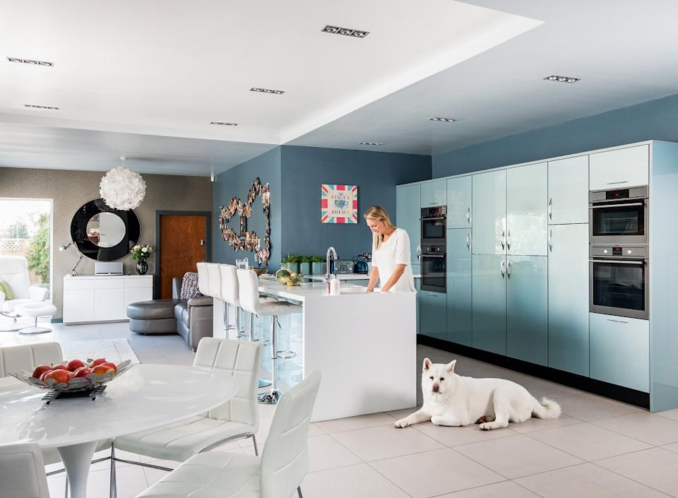 contemporary kitchen extension for entertaining