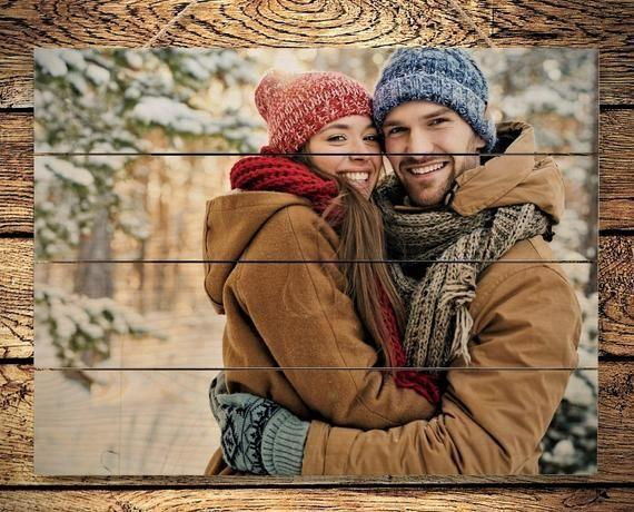"""<p><strong>LoveWoodPrints</strong></p><p>etsy.com</p><p><strong>$20.73</strong></p><p><a href=""""https://go.redirectingat.com?id=74968X1596630&url=https%3A%2F%2Fwww.etsy.com%2Flisting%2F706723770%2Fboyfriend-christmas-gift-for-boyfriend&sref=https%3A%2F%2Fwww.seventeen.com%2Flove%2Fdating-advice%2Fadvice%2Fg606%2Fboyfriend-gifts%2F"""" rel=""""nofollow noopener"""" target=""""_blank"""" data-ylk=""""slk:Shop Now"""" class=""""link rapid-noclick-resp"""">Shop Now</a></p><p>Looking for a thoughtful gift that's <em>not </em>a boring picture frame? A cool wooden photo of the two of you will look way better on his wall. </p>"""
