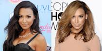 <p>In 2014, the late <em>Glee </em>actress Naya ditched her dark hair color—and her then-fiancé Big Sean—in favor of a warm caramel color. </p>