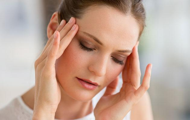 If you suffer from headaches or migraines, try cutting out caffeine ©Rex