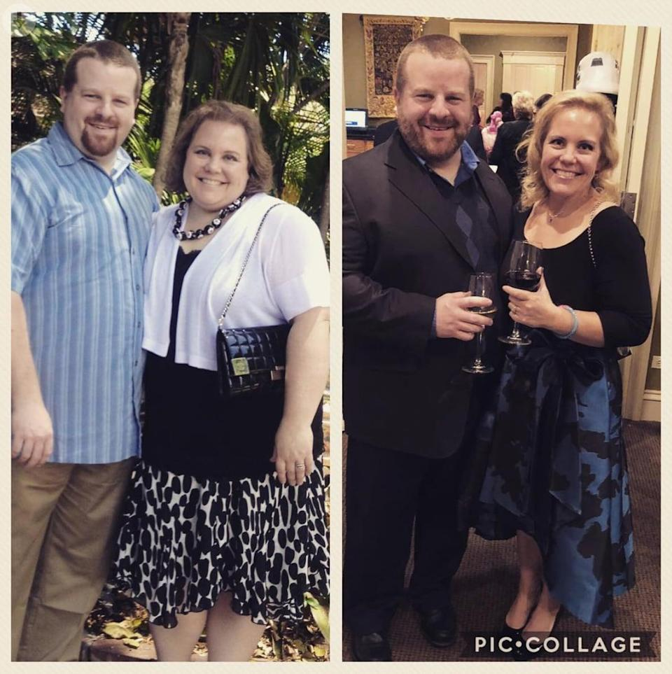 """<p>In fall of 2015, Liz received an invite to her 20th high school reunion. """"As I scrolled through the list of names on Facebook - people I hadn't seen or thought much about for a couple of decades - I remember feeling a hot wave of <a href=""""https://www.popsugar.com/fitness/What-Like-Have-Anxiety-44984437"""" class=""""link rapid-noclick-resp"""" rel=""""nofollow noopener"""" target=""""_blank"""" data-ylk=""""slk:anxiety"""">anxiety</a> rising through my chest,"""" Liz said. She started to question whether she'd even go, because even after all these years, she was surprised to find she still had feelings of inadequacy. </p> <p>Liz had tons of achievements she should have felt proud of, like graduating college with honors, becoming a lawyer, and getting married. """"As I saw all those familiar names from the past, it all felt as if none of my achievements would be noticed or acknowledged, despite everything I'd done to become the woman I am. I was <a href=""""https://www.popsugar.com/fitness/Feeling-Ashamed-About-Body-Weight-44512090"""" class=""""link rapid-noclick-resp"""" rel=""""nofollow noopener"""" target=""""_blank"""" data-ylk=""""slk:afraid all anyone would see was how big I was"""">afraid all anyone would see was how big I was</a>, because I felt like that's all anyone had ever seen,"""" Liz admitted.</p> <p>For a few weeks, Liz toyed with whether to RSVP. """"I ultimately decided that my insecurity over the whole reunion was less about them and more about me, and it wasn't in my nature to back down or slink away in shame and hide.""""</p> <p>That's the day Liz began her weight-loss journey. It's the day she realized she was all out of excuses and that a better course than not showing up to the reunion would be to change what she felt was still holding her back after all those years.</p> <p>Liz was a little over 260 pounds at her heaviest. She was able to drop 105 pounds in about two years, and here's how she did it.</p>"""
