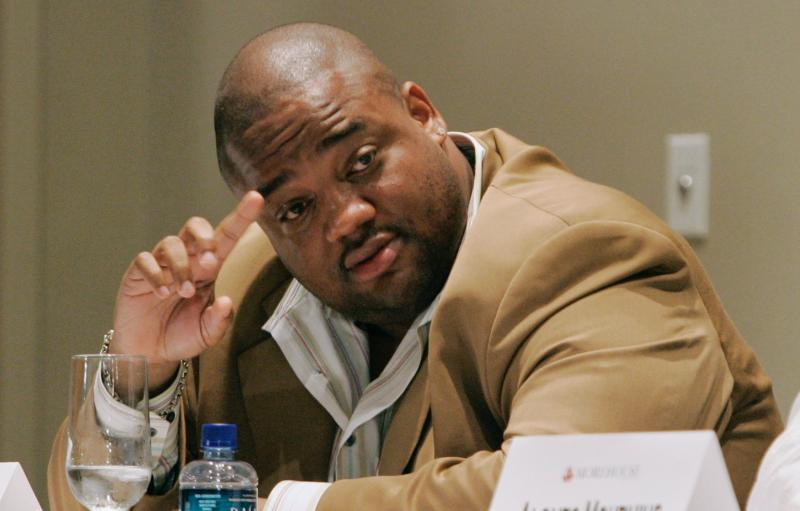 "Jason Whitlock will no longer host FS1's ""Speak for Yourself."" (AP Photo/John Amis)"