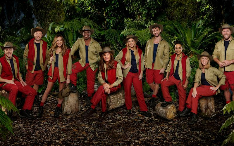 This year's contestants prepare to enter the jungle - ITV