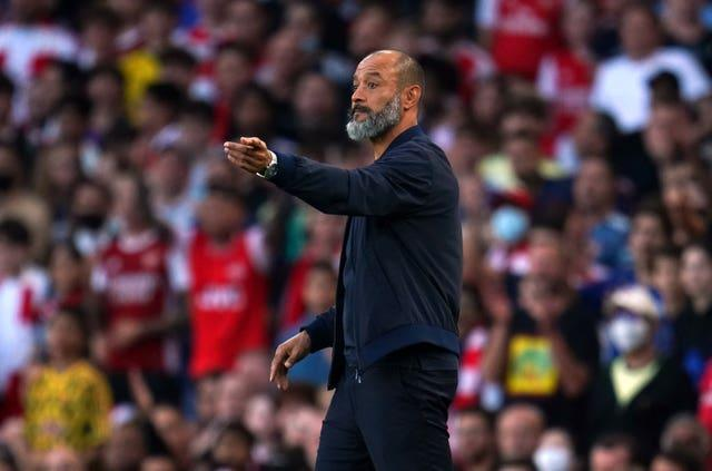 Nuno admitted he got his tactics wrong in Sunday's loss to Arsenal