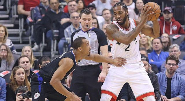 The Clippers are considered the front-runner by most to land Kawhi Leonard this summer. (Photo by Claus Andersen/Getty Images)