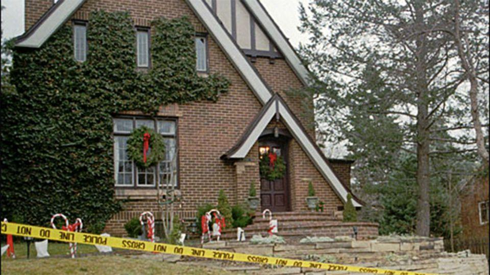 On the evening of December 23, 1996, police in Colorado received a silent call from the Ramsay residence (pictured). Photo: AP