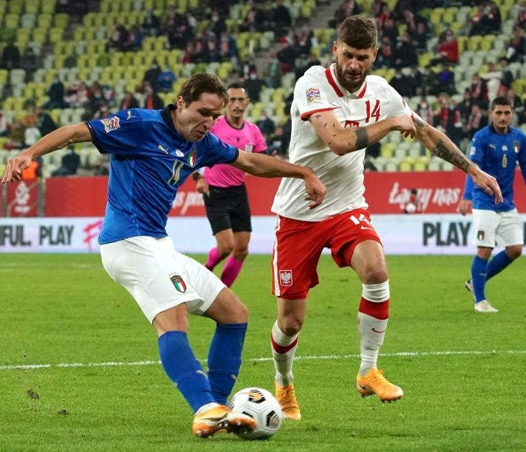 Italy settle for goalless Nations League draw in Poland