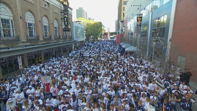 Winnipeg whiteout street parties cost almost $2.2M, attracted 120,000 Jets fans