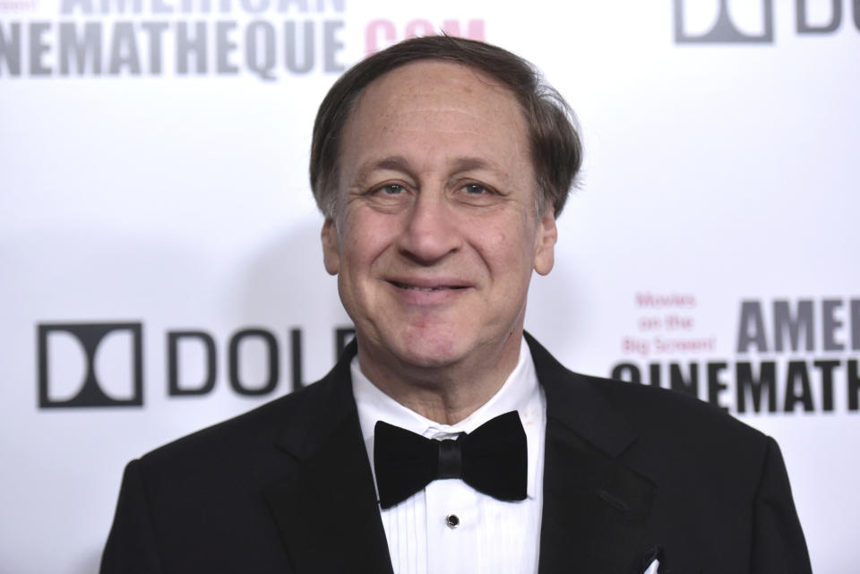 AMC Theaters CEO Adam Aron arrives at the 33rd American Cinematheque Award honoring Charlize Theron at the Beverly Hilton Hotel on Friday, Nov. 8, 2019, in Beverly Hills, Calif. (Photo by Richard Shotwell/Invision/AP)