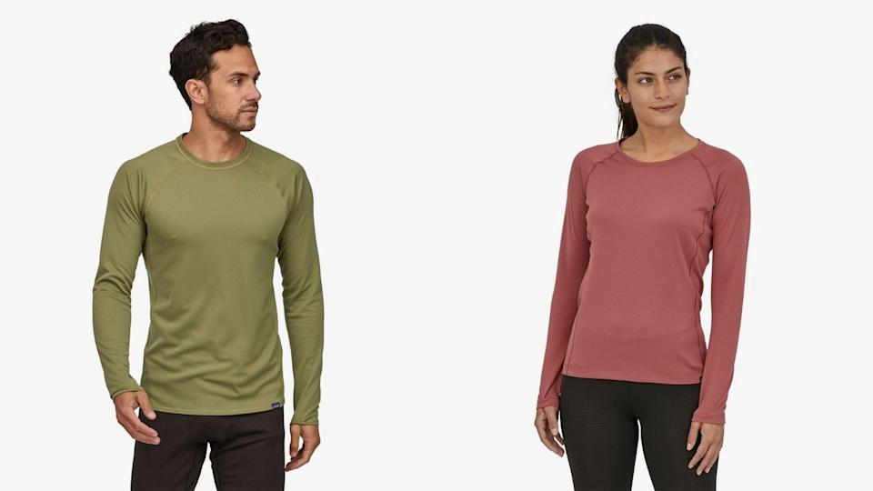 A good base layer keeps you warm without overheating.