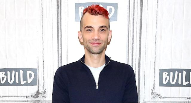 Jay Baruchel spreads the word about his film <i>Goon: Last of the Enforcers</i> at Build Studio on August 29, 2017 in New York (Photo: Rob Kim/Getty Images)