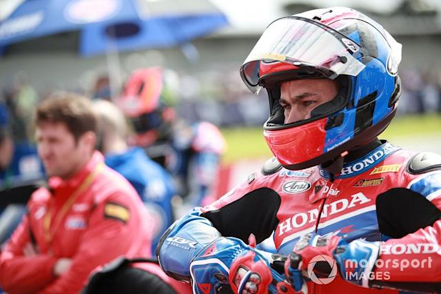"""Leon Haslam, Team HRC <span class=""""copyright"""">Gold and Goose / Motorsport Images</span>"""