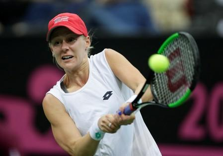FILE PHOTO: Fed Cup - World Group Final - Czech Republic v United States