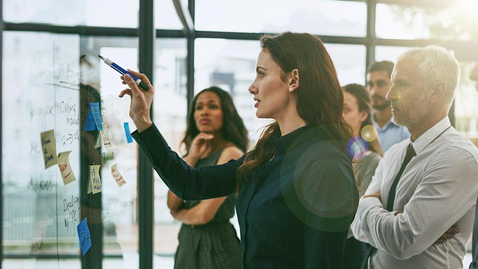 """<p>It's true that women only make up 5 percent of the CEOs leading Fortune 500 companies, but many of the leaders of both beloved and cutting-edge brands are female, thanks in part to a <a href=""""https://www.gobankingrates.com/making-money/business/moms-changing-business/"""" rel=""""nofollow noopener"""" target=""""_blank"""" data-ylk=""""slk:boom in female entrepreneurs"""" class=""""link rapid-noclick-resp"""">boom in female entrepreneurs</a>.</p> <p>Well-established companies including Hershey and newer brand powerhouses like Away luggage both have women in the top spot, and <a href=""""https://www.gobankingrates.com/net-worth/business-people/female-ceos-net-worth/"""" rel=""""nofollow noopener"""" target=""""_blank"""" data-ylk=""""slk:they're not the only major companies with female CEOs"""" class=""""link rapid-noclick-resp"""">they're not the only major companies with female CEOs</a>.</p>"""
