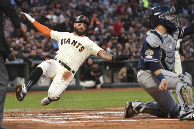 Kevin Pillar is still getting used to his new life as a member of the San Francisco Giants.