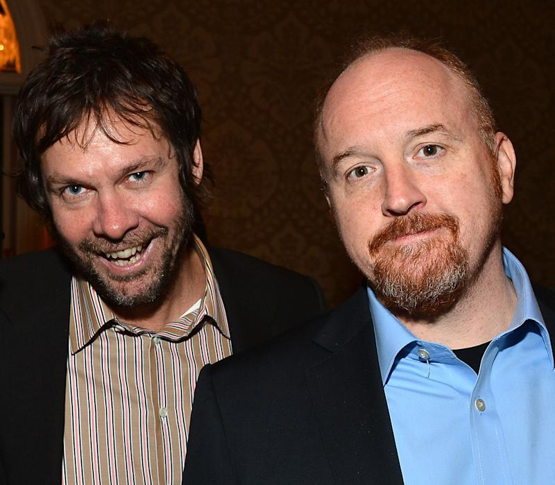 Dave Becky and Louis C.K. back in 2013.