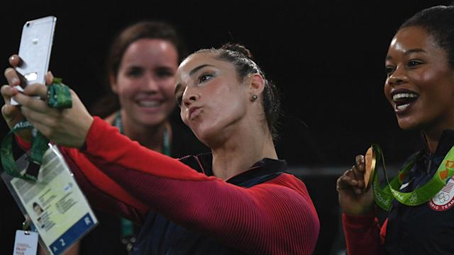 """After Raisman shared how she has allegedly been sexually abused by a coach, Douglas tweeted women have a """"responsibility to dress modestly."""""""