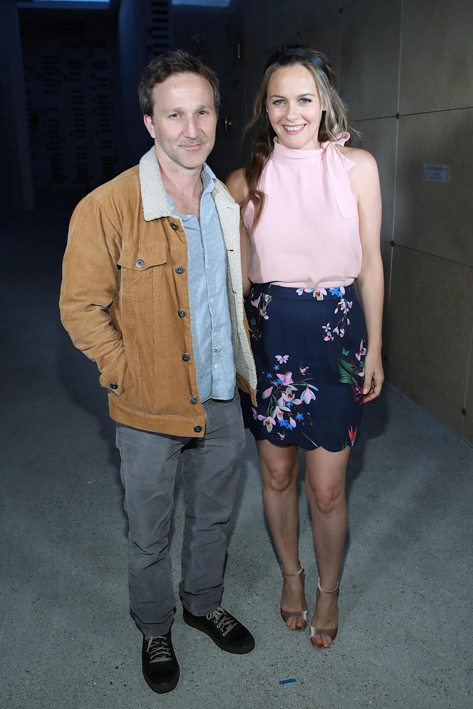 Image of Alicia Silverstone and Breckin Meyer