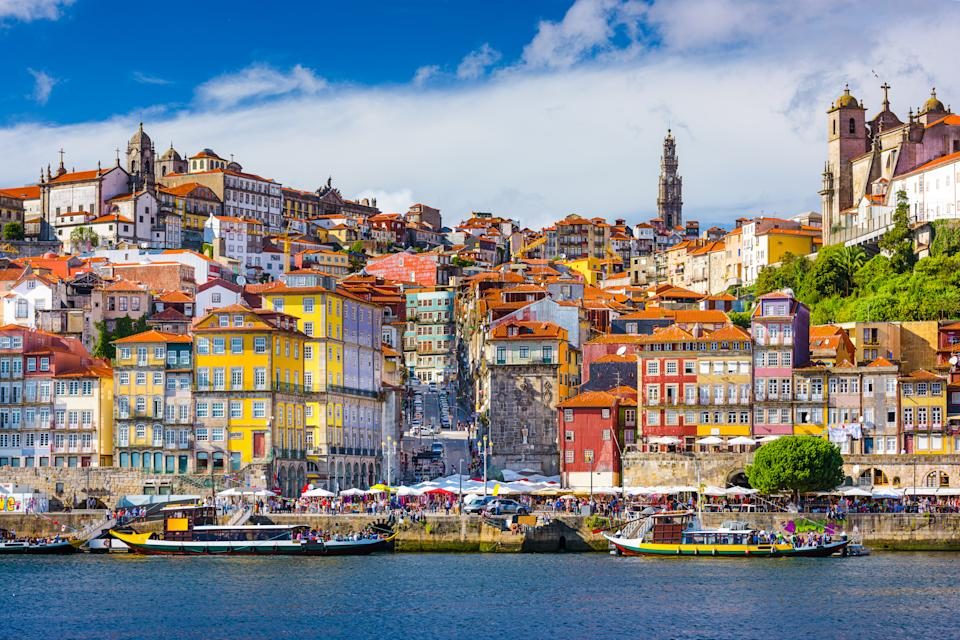 Porto, Portugal old town skyline from across the Douro River. Photo: Getty