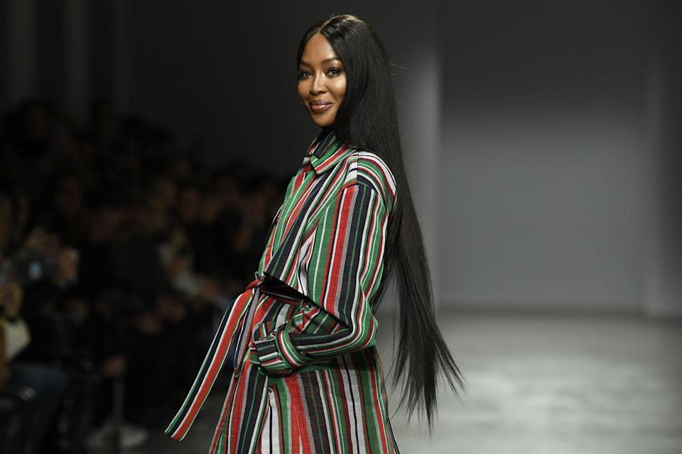 <p>Naomi Campbell dropped her only studio album, <em>Baby Woman</em>, in 1995 with a photo of herself on the album cover shaving her legs. With a music video directed by photographer and filmmaker Anton Corbijn, the single struck success in Japan. </p>