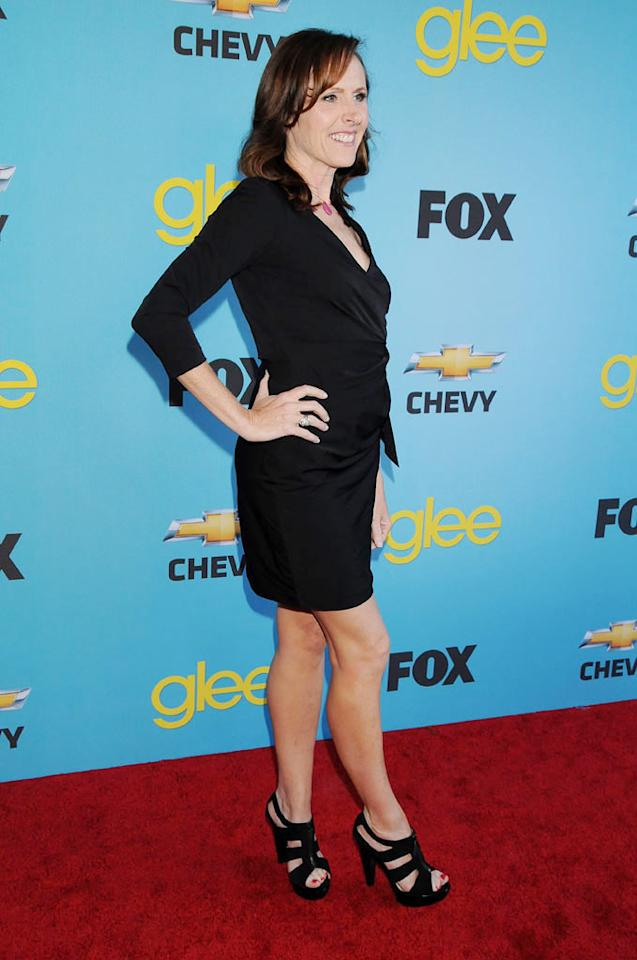 """<a href=""""/molly-shannon/contributor/35268"""">Molly Shannon</a> arrives at Fox's <a href=""""/glee/show/44113"""">""""Glee""""</a> Spring Premiere Soiree at Chateau Marmont on April 12, 2010 in Los Angeles, California."""