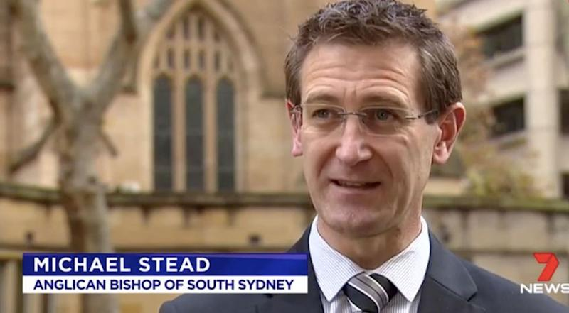 Anglican Bishop of South Sydney Michael Stead. Photo: 7 News