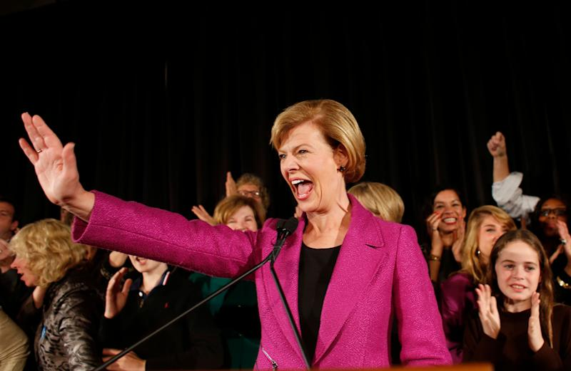 """<a href=""""http://www.senate.gov/artandhistory/history/common/briefing/women_senators.htm""""><strong>Served from:</strong></a> 2013 to present (Photo by Darren Hauck/Getty Images)"""