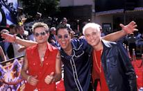"""<p>Doesn't this trio just <em>scream </em>""""We're a '90s pop group""""? Youngstown formed in 1998 and ultimately padded the soundtracks of our favorite 2000s movies—from <em>The</em> <em>Princess Diaries </em>to <em>Inspector Gadget</em>. The group's biggest hit, """"I'll Be Your Everything,"""" came off of their album <em>Let's Roll </em>and will instantly transport you back to the year 2000. </p>"""