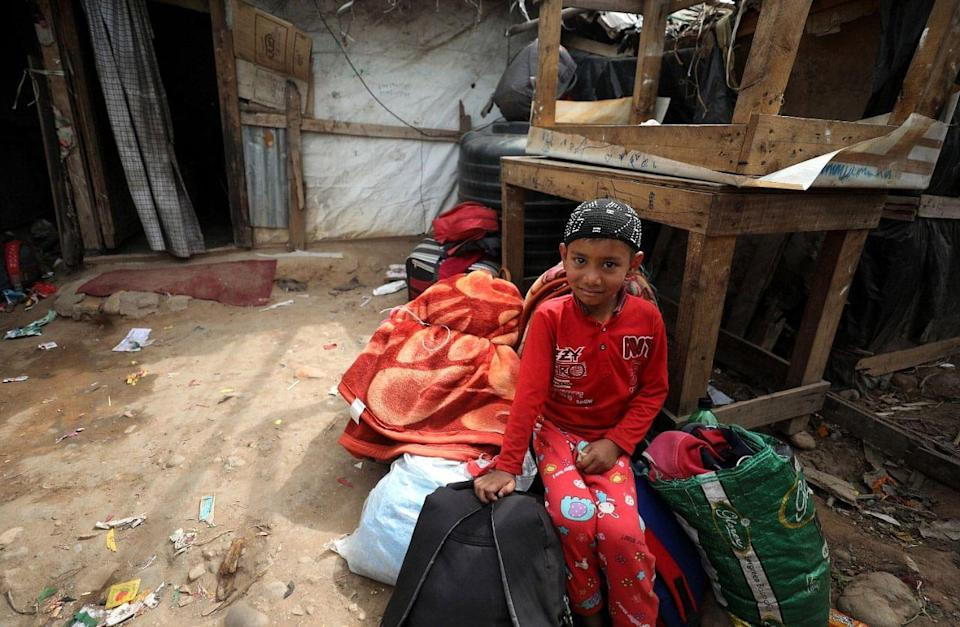 Rohingyas are a displaced community which moved from Myanmar to Jammu and Kashmir.