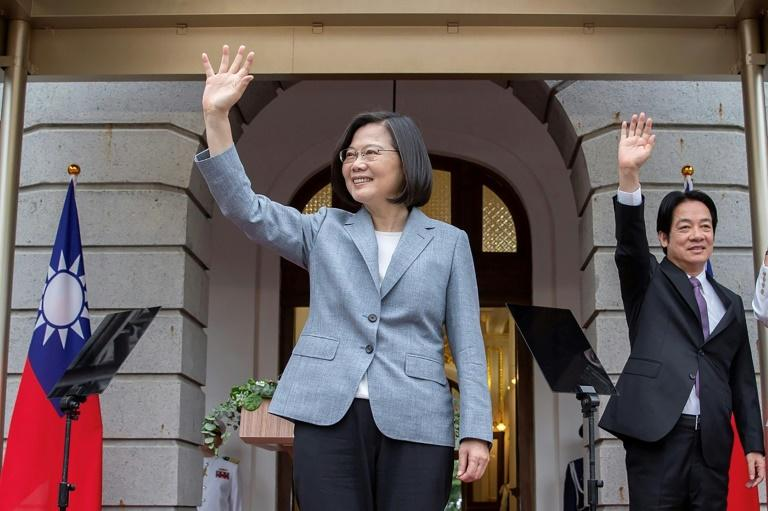 Taiwan 'on front lines of freedom' after HK crackdown: president