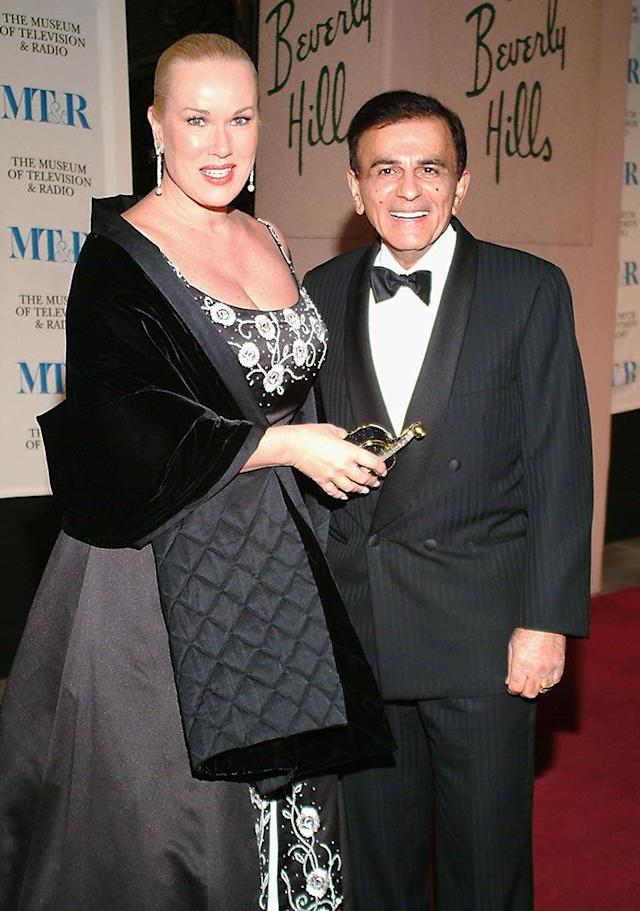 Casey Kasem and wife Jean, seen here in 2004, were married in 1980. (Photo: Michael Tullberg/Getty Images)