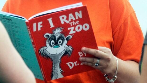If I Ran the Zoo is one of the books held by the P.E.I. Library. (CBC - image credit)