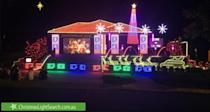 <p>32 Elia Ware Crescent, Bonner, ACT. Photo: Christmaslightsearch </p>