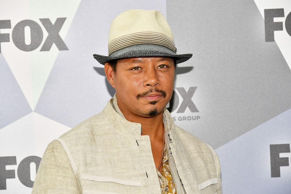"""<p>Before he was lending his talents to <em>Empire</em> as Lucious Lyon, Terrence Howard released <a href=""""https://open.spotify.com/album/5Oj3lXJAJcb0BJoddp6c1J?si=NzfgcNKaTdGO2VPHu75Ahw"""" rel=""""nofollow noopener"""" target=""""_blank"""" data-ylk=""""slk:Shine Through It"""" class=""""link rapid-noclick-resp""""><em>Shine Through It</em></a> in 2008. His record label thought it would be a rap album, according to <a href=""""https://www.nytimes.com/2008/08/24/arts/music/24decu.html"""" rel=""""nofollow noopener"""" target=""""_blank"""" data-ylk=""""slk:The New York Times"""" class=""""link rapid-noclick-resp""""><em>The New York Times</em></a>. Instead, he produced a soulful album on which he plays an acoustic guitar.</p>"""