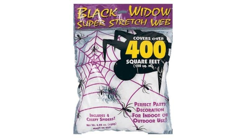 Is it really Halloween without fake cobwebs?