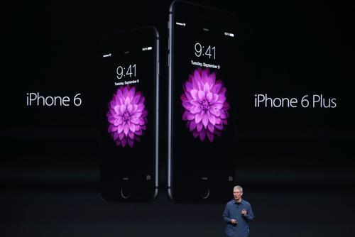 Tim Cook introduces the iPhone 6 and iPhone 6 Plus