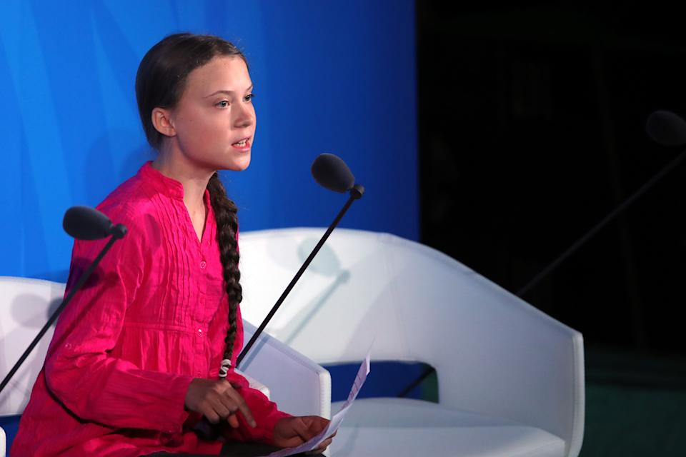 Greta Thunberg beim UN-Klimagipfel. (Bild: Spencer Platt/Getty Images)