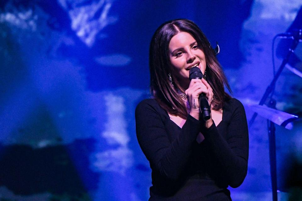 "<p>While performing in Denver in January 2018, Lana made a slight change to ""White Mustang,"" a song believed to be about G-Eazy. (They reportedly broke up in 2017 after five months of dating). To the delight of the crowd, <a href=""https://twitter.com/Lanapedia/status/950303103672135681"" rel=""nofollow noopener"" target=""_blank"" data-ylk=""slk:Lana changed the line"" class=""link rapid-noclick-resp"">Lana changed the line</a> ""Couldn't stop the way I was feeling the day your record dropped"" to ""Couldn't stop the way I was feeling the day his record dropped"" and added, ""and it wasn't even that good."" </p>"