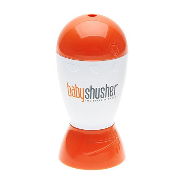 """<p>Ready to become a new parent's hero? This product soothes fussy babies with a rhythmic """"shush"""" sound so mom and dad can actually get some shut-eye. <em>(Sleep miracle machine, BABY SHUSHER, $30)</em></p><p><a rel=""""nofollow noopener"""" href=""""https://www.amazon.com/Baby-Shusher-Soothing-Miracle-Babies/dp/B00D2JN87I/?tag=syndication-20"""" target=""""_blank"""" data-ylk=""""slk:BUY NOW"""" class=""""link rapid-noclick-resp"""">BUY NOW</a></p>"""