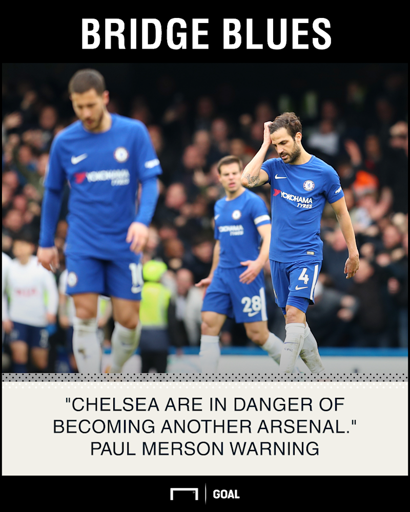 Chelsea becoming another Arsenal Paul Merson