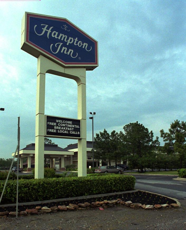 A Black family that stayed a Hampton Inn in North Carolina is suing Hilton after a white clerk called police over a billing mistake that turned out to be the hotel's fault. Hampton Inn is a Hilton brand