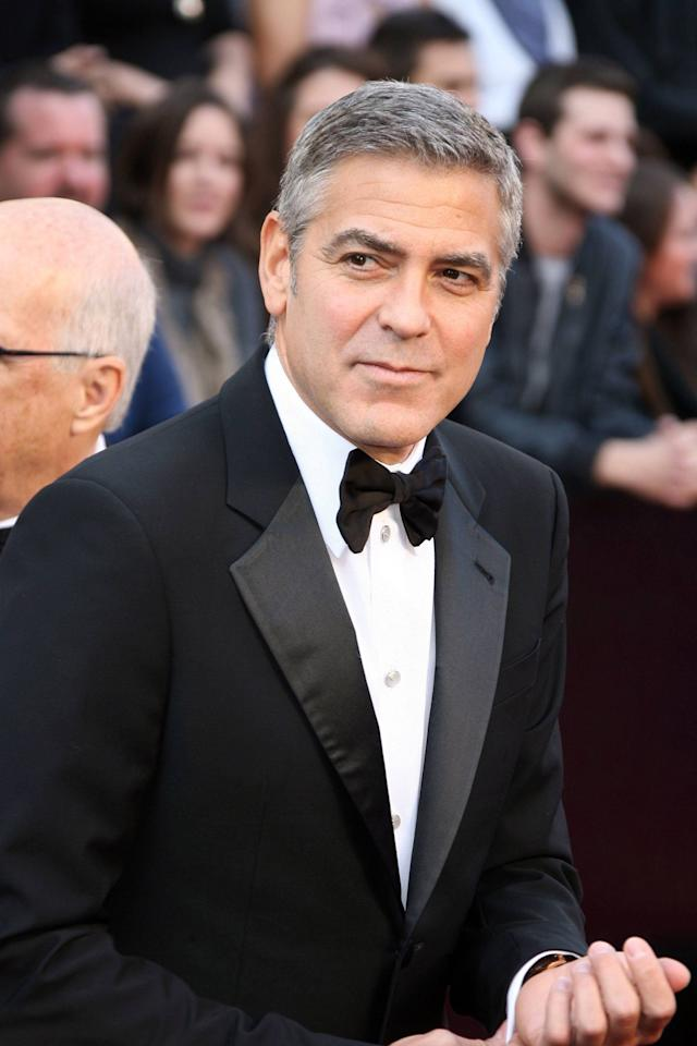 George Clooney 84th Annual Academy Awards (Oscars) held at the Kodak Theatre - Arrivals Los Angeles, California - 26.02.12 Mandatory Credit: Adriana M. Barraza/ WENN.com