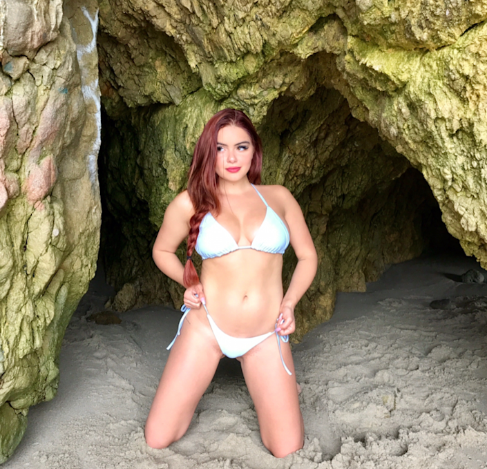 <i>Ariel Winter has been criticised for posing in a bikini on Memorial Day [Photo: Instagram/arielwinter]</i>