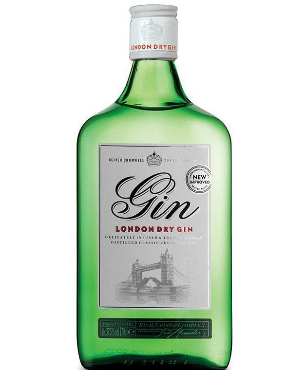 Oliver Cromwell London Dry Gin named one of the best. Photo: Aldi