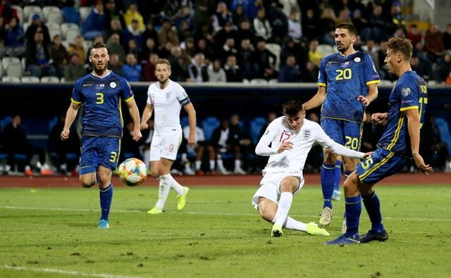 Mason Mount opened his goalscoring account for England against Kosovo (Steven Paston/PA)
