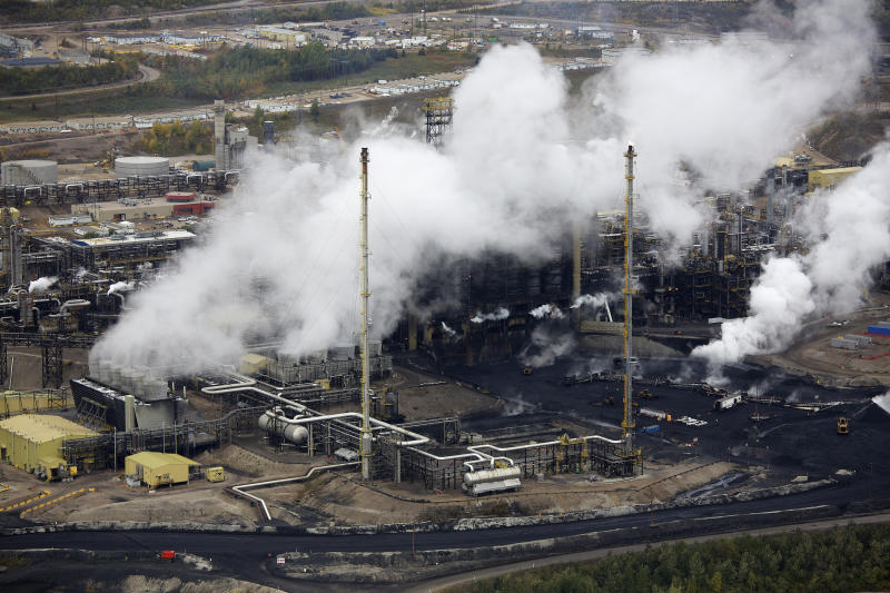 A tar sands operation near Fort McMurray, Alberta, as seen in 2014. (Todd Korol/Reuters)
