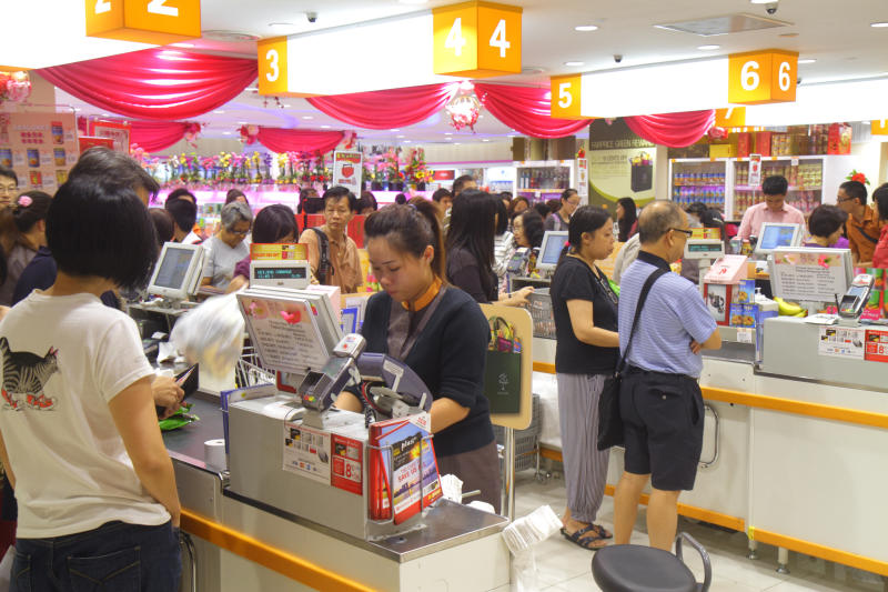 FairPrice Finest at Junction 8 shopping mall. (Getty Images file photo)