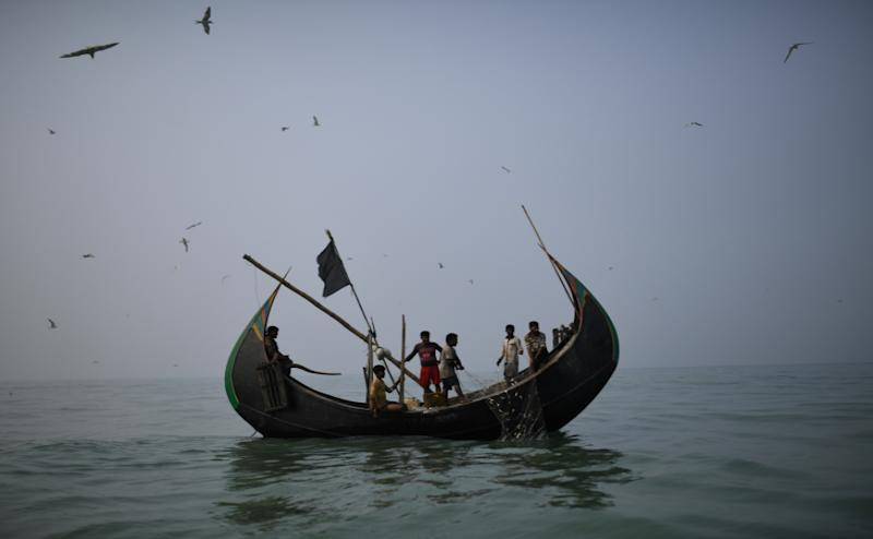 Rohingya refugees who fled from Myanmar are slowly adapting to their new livelihoods in the Bangladesh fishing industry, all under the official radar. Reuters/Clodagh Kilcoyne
