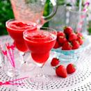 """<p>Strawberries, rum and lime combine for the perfect chilled summer cocktail<br><br><strong>Recipe: <a href=""""https://www.goodhousekeeping.com/uk/food/recipes/frozen-strawberry-daiquiri"""" rel=""""nofollow noopener"""" target=""""_blank"""" data-ylk=""""slk:Frozen strawberry daiquiri"""" class=""""link rapid-noclick-resp"""">Frozen strawberry daiquiri</a></strong><br></p>"""